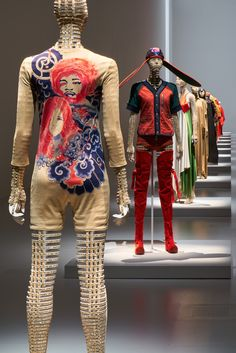 Forty-five years of innovative fashion and design by Issey Miyake are on display at the National Art Center in Tokyo