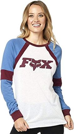 Fox Womens Womens Long Sleeve Raglan Shirt Shirt