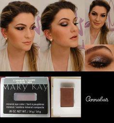 Mary Kay Cinnibar Mineral powder- eye shadow xox