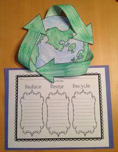 FREE Earth Day Craftivity - The Lesson Plan Diva - TeachersPayTeachers.com