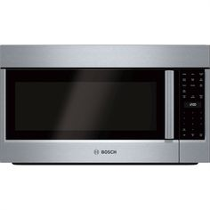 Bosch 500 Series 30-in 2.1-cu ft Over-The-Range Microwave Sensor Cooking Controls (Stainless Steel)