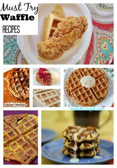 Lots of delicious Waffle recipe ideas