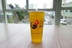 ハチミツ入りの台湾緑茶台湾来てから台湾茶にハマりまくっている #meallog #food #foodporn #tw