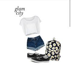 Summer fashion on my polyvore