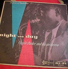 Charlie Parker Night and Day dg  Clef MGC 5003 by VintageAudioPlus