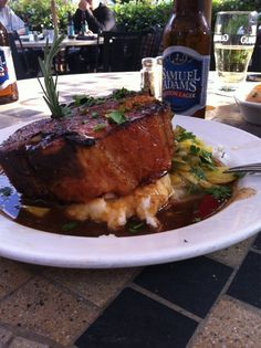 The Manchester Arms - College Park, GA, United States. The pork chop!