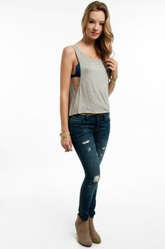 Summer and jeans please!