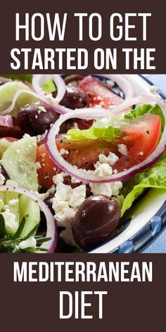 Medditeranean Diet, Med Diet, Diet And Nutrition, Easy Mediterranean Diet Recipes, Mediterranean Dishes, Healthy Diet Plans, Diet Meal Plans, Heart Healthy Diet, Healthy Eating Recipes