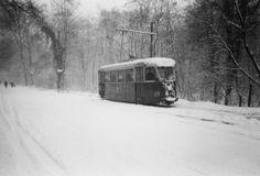 """Seraing-Beauséjour, le terminus du """"tram vert"""" le 25.12.1964"""