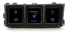 DAKOTA DIGITAL DASH 78 79 FORD BRONCO FULL 6 GAUGE CLUSTER SYSTEM VFD3-73F-PU - Phoenix Tuning