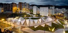 Talud de Galindez y Plaza Pau Casals | Bilbao Architecture