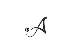 A for AISHA Islamic/Muslim Clothing Line designed by Farooq Shafi. Arabic Calligraphy Design, Lettering Design, Wedding Logo Design, Monogram Letters, Monogram Logo, Logo Background, Fashion Logo Design, Boutique Logo, Floral Logo