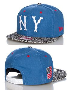 NEW ERA NEW YORK YANKEES MLB SNAPBACK- Medium Blue
