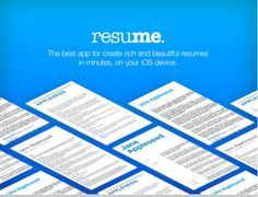 This Is A Great App for Creating Professionally Looking Resumes ~ Educational Technology and Mobile Learning