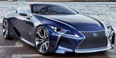 2012 Lexus LF-LC Blue Concept