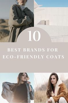 This guide contains everything from ethical trenchcoats, sustainable coats, puff jackets, denim jackets, organic coats, eco jackets and much more. Find all the best brand for sustainable women's coats here. Fast Fashion, Slow Fashion, Womens Fashion, Sustainable Living, Sustainable Fashion, Fall Fashion Trends, Autumn Fashion, Coats For Women, Jackets For Women