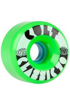 Cult Classics 70mm 80A Rollen (green) 4er Pack