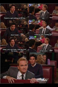 Literally my favorite scene out of all episodes of How I Met Your Mother.