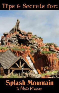 Splash Mountain in the Magic Kingdom Disney World Rides, Disney World Parks, Disney World Planning, Walt Disney World Vacations, Hollywood Studios, In Hollywood, Disney Movie Songs, Song Of The South, Splash Mountain
