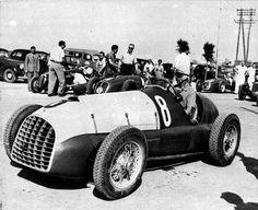 1949 gp di bari - chico landi, later relieved by luigi villoresi (ferrari 166c) 4th 1 | da Cor Draijer