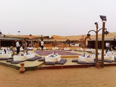Desert Safari Dubai - If you ever go to Dubai, you HAVE to do this! So cool, especially once the sun goes down