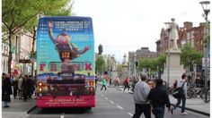 Our very effective bus rear for the wonderful Frank, starring Michael Fassbender and Domhnall Gleeson. May 2014