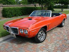 Convertible Pontiac Firebird 400 '69
