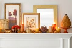 Fall mantlepiece