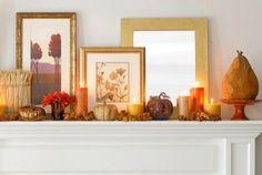 画像 : こっくり暖かい秋色のお部屋インテリア参考画像集【小枝や落ち葉、木の実も】 - NAVER まとめ