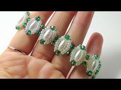 Crystal Jewelry, Beaded Jewelry, Handmade Jewelry, Crochet Hooded Scarf, Diy Spring Wreath, Beaded Bracelets Tutorial, Craft Accessories, Beaded Ornaments, Jewelry Patterns