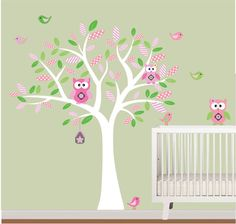 Pink Green Tree 90