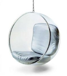 This is a cool chair to hang in a bedroom or a basement and it quickly grabs the attention of other people.