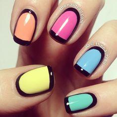 Instagram photo by thenailtrail  #nail #nails #nailart