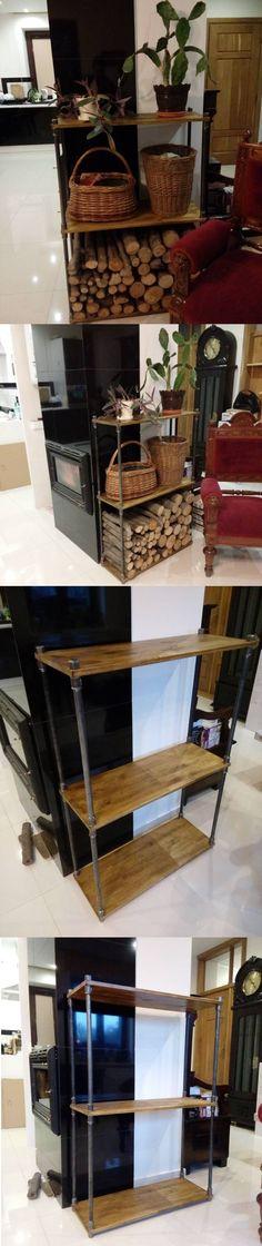 DIY Pipe / Industrial shelf