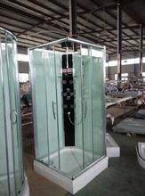 <Strong> baño </ strong> prefabricada de pie de vidrio cabina de…
