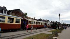 Dampfeisenbahn an der Somme Bucht in Nordfrankreich