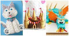 14 Merveilleux gâteaux d'anniversaire pour enfants sans moule spécial - Guide Astuces :