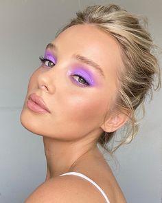 Makeup Eye Looks, Eye Makeup Art, Cute Makeup, Glam Makeup, Pretty Makeup, Skin Makeup, New Year's Makeup, Green Makeup, Pastell Make-up