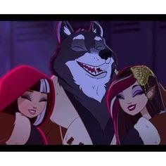 Cerise, Big Bad Wolf & Ramona
