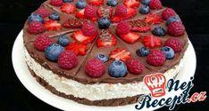 Fantastický raffaello krém do různých dezertů Nutella, Chocolate Slice, Cooking Recipes, Healthy Recipes, Healthy Food, Naan, Cheesecake, Good Food, Birthday Cake