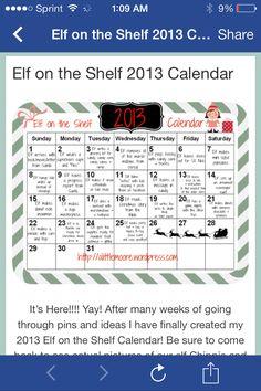 New elf ideas
