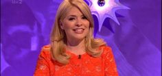 Holly Willoughby's Dress on Celebrity Juice