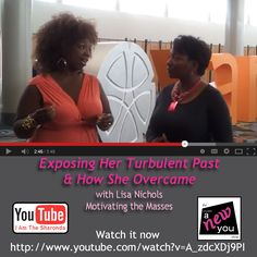 Sharonda interviews Lisa Nichols on the Create A New You! Show. Watch it now - http://www.youtuve.com/watch?v=A_zdcXDj9PI
