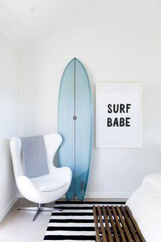 Surfer Bedroom, Surfer Girl Rooms, Surfer Decor, California Decor, California Surf, Beach House Decor, Home Decor, Beach Room Decor, Surf House
