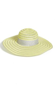 Collection XIIX Packable Open Weave Floppy Sun Hat available at  Nordstrom Floppy  Sun Hats 1f8d3e0cbc06