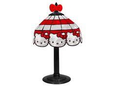 HELLO KITTY LIMITED: HELLO KITTY TIFFANY STYLE LAMPS