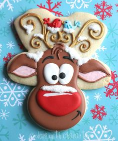 Rudolf cookie!