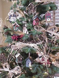 Rustic Christmas Tree Ideas - Bing Images