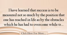 Booker T. Washington Quotes About Success - 65235