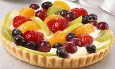 Greek Pastries, Greek Sweets, Sweets Cake, Fruit Salad, Food Processor Recipes, Dessert Recipes, Dessert Ideas, Cheesecake, Deserts